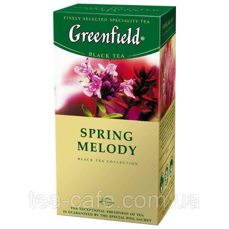 Чай  Greenfield Spring Melody пакетированный 25пак.