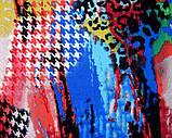 """Трикотажное полотно принтованное """"Галакси"""", фото 2"""