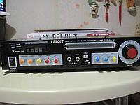 Стерео усилитель UKC KA-123 Bluetooth с Karaoke
