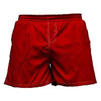 Мужские красные шорты с белой строчкой пр-во Украина  1555-6
