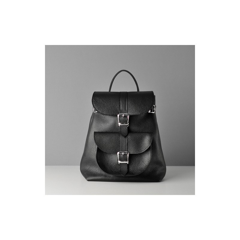 Кожаный женский рюкзак Classik