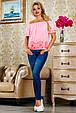 Блуза 2222 розовый, фото 2