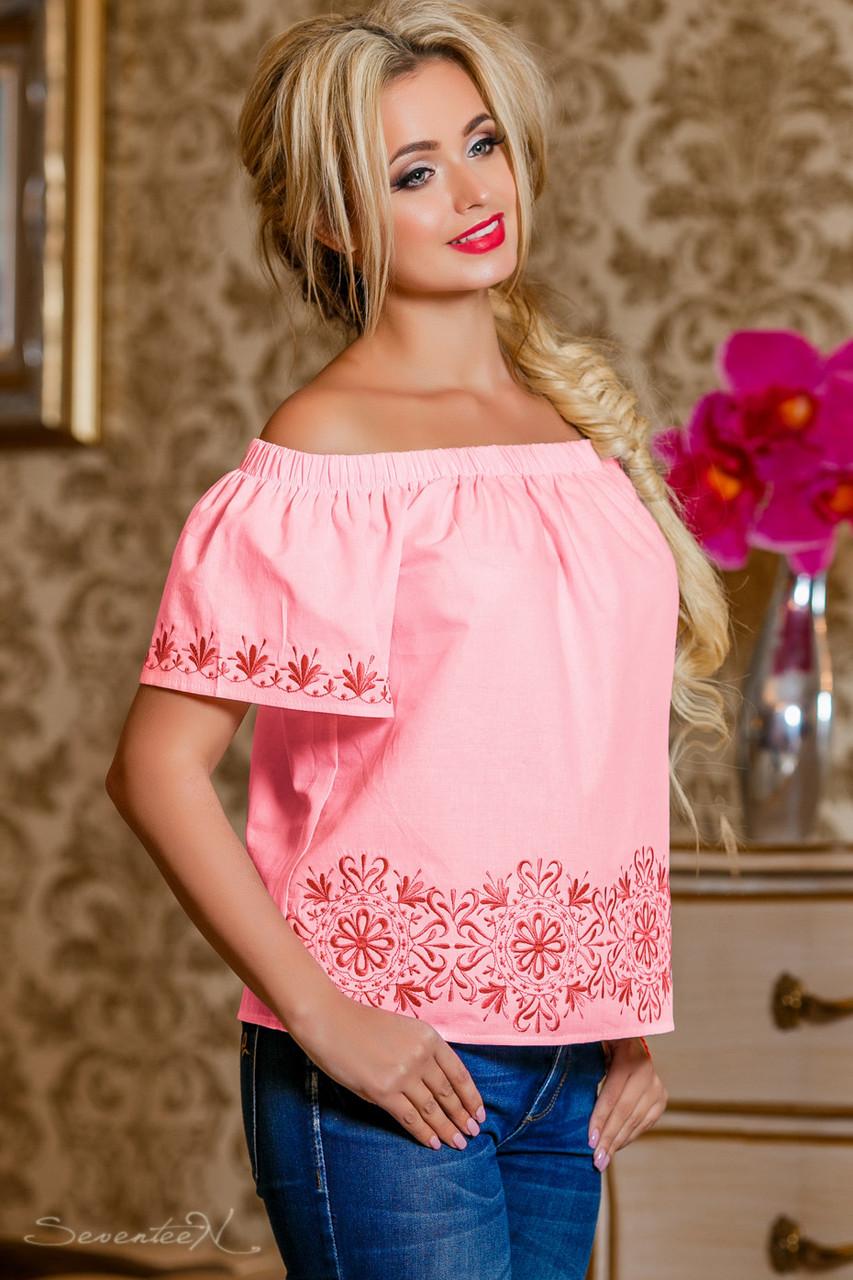 Блуза 2222 розовый