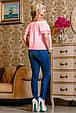 Блуза 2222 розовый, фото 4