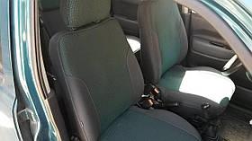 Чехлы на сиденья Mercedes W124 E 1984-97 экокожа, центр автоткань