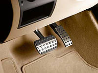 Накладки педалей, комплект (Хром) Mercedes-Benz ML/ GLE W166/ C292 Новые Оригинальные