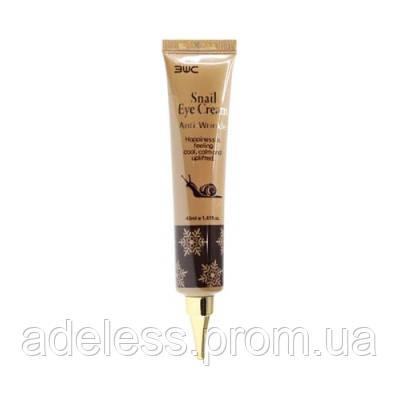 Улиточный крем для век 3W Clinic Anti Wrinkle Snail Eye Cream