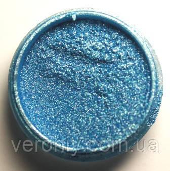 Пигмент для акрила и геля № 39 (темно-голубой перламутровый) 5 гр.