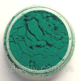 Пигмент для акрила и геля № 75 (изумрудно-зеленый матовый) 5 гр.