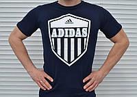 Мужская футболка Adidas(синяя)