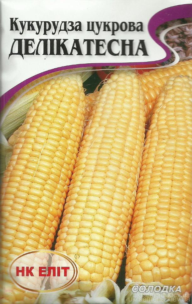 Кукуруза Деликатесная Сахарная