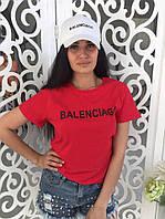 Женская футболка с надписью