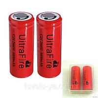 Аккумулятор Ultra Fire 3.7V Li-ion GH 26650, 5000mAh для шокера, шокеров, электрошокеров, фонаря