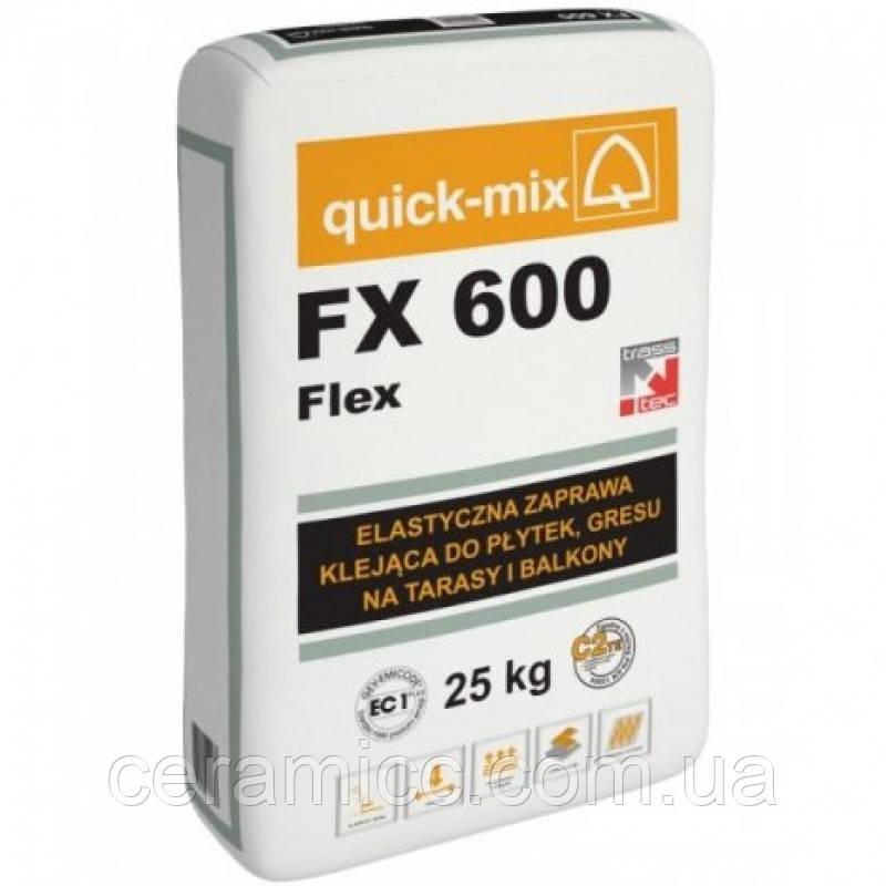 FX 600  Flex Эластичный клей, C2TE