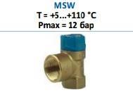 Предохранительный клапан тип MSW Afriso