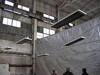 Отопление цехов, гаражей, складов и других промышленных объктов