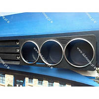 Кольца рамки на ручки печки BMW E34 мат