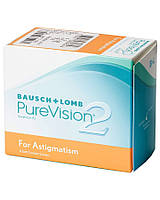Контактные линзы PureVision 2 for Astigmatism 1уп (3шт)