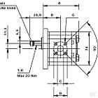 Шестеренчатий (шестерний) гідравлічний насос серія POLARIS PLP101S081E1 Pump PLP 10.1 -S0 81-E1 LBB/BA Casappa, фото 4