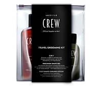 Дорожный набор для бритья American Crew Travel Grooming Kit