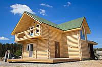 Лучшее предложение 112 м2 Комфортный дом из сруба с участком