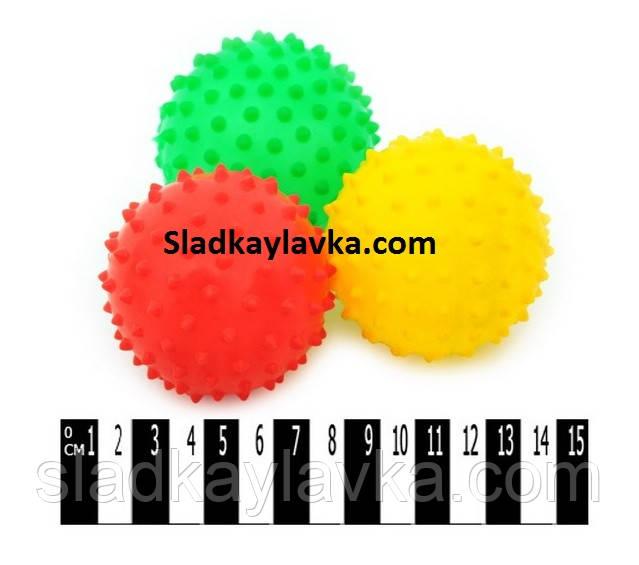 Игровой набор Мяч светящийся ежик 24 шт (Китай)