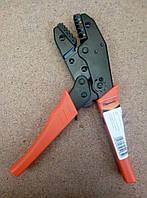 Пресс-клещи, кримпер SPARTA 177065 Усиленные с храповым механизмом. АКЦИЯ