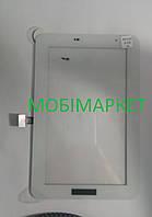 Сенсор (тачскрін) для планшетаSamsung P3100 Galaxy Tab2, P3110 Galaxy Tab2, P3113, (Wi-fi) original білий