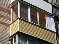 Облицовка балконов