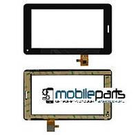 """Оригинальный Сенсор (Тачскрин) для планшета 7"""" Modecom FreeTab 7002 (186*111 мм, 30 pin) С вырезом под динамик"""