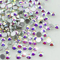 Стразы для ногтей Crystal SS 04 AB (хамелеон) 100 шт