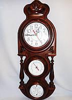 Часы настенные Абсолют барометр, влагомер, термометр