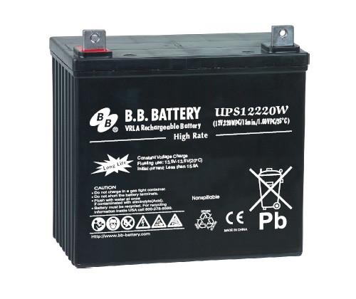 Аккумуляторная батарея B.B. Battery MPL 55-12 (12V, 55 Ah)