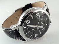 Часы мужские Alberto Kavalli в стиле Classic, черный циферблат, корпус серебристый