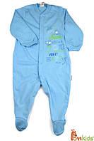 КБ 77 Комбінезон,супрем,р.86 колір400 блакитний