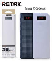 Power bank Proda 6J с дисплеем (20000mAh)
