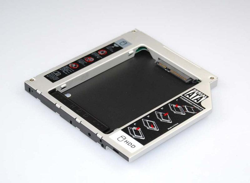 Optibay - HDD в разъем DVD ноутбука 12.7мм