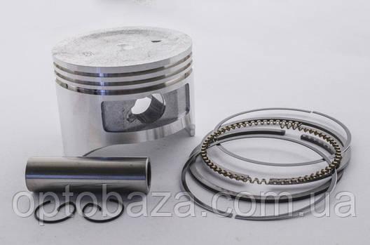Поршневой комплект 77,25 мм для мотоблока бензинового 9 л.с., фото 2