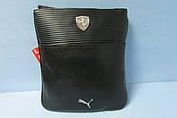 Сумка-планшет Puma (073489-01) черная код 0610А