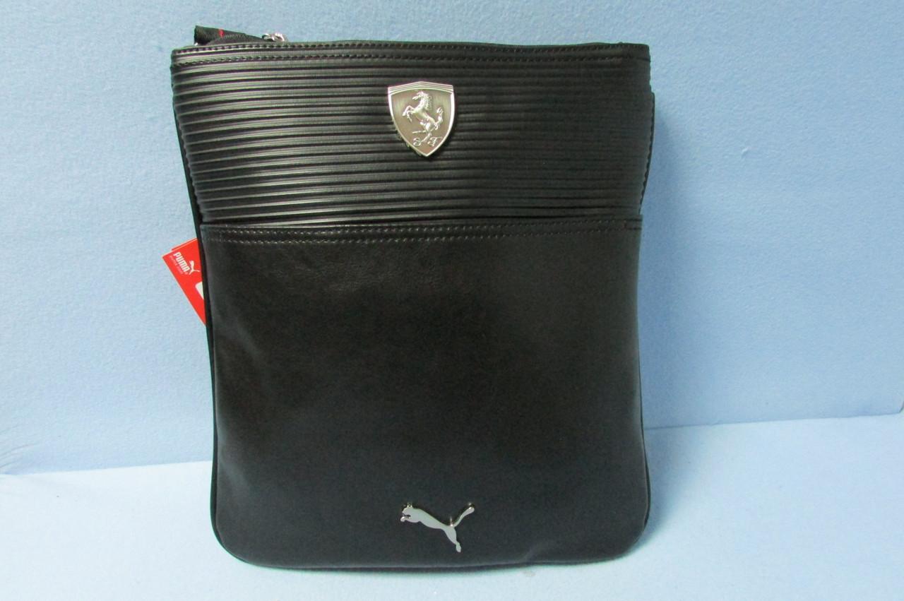 Сумка-планшет Puma (073489-01) черная код 0610А  продажа cb9786eae1f89