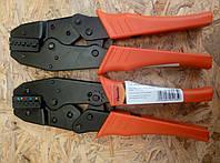 Пресс-клещи, кримпер SPARTA 177065 Усиленные с храповым механизм.