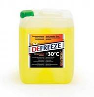 Теплоноситель для отопления Defreeze (Дефриз) до - 30, 10 л (на основе природного минерального сырья)