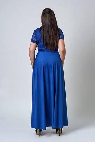 """Платье длинное в пол """"Аманда"""" 54 размер, фото 2"""