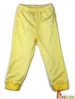 ШР 2 Штани дитячі, інтерлок р.80 колір500 жовтий