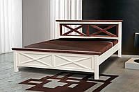 Кровать деревянная двуспальная Нормандия 1,6м
