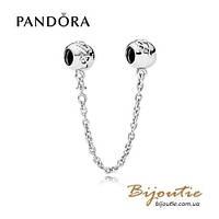 Pandora защитная цепочка ЛЮБОВЬ НАВСЕГДА #792059 серебро 925 Пандора оригинал