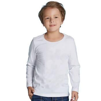 Детская двухслойная футболка, длинный рукав (лонгслив), размер 68