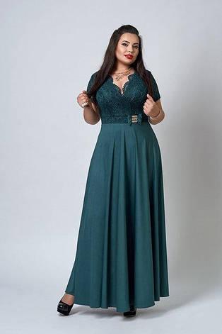 """Платье длинное в пол """"Аманда"""", фото 2"""