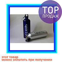 Фляга/бутылка для воды с карабином 8003-750 Sport PP/термос