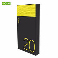 Внешний аккумулятор Golf 20000mAh